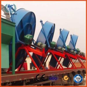China Bio Organic Compound Fertilizer Pelletizer Pan Granulation Production Plant on sale
