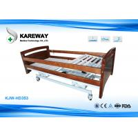 Adjustable Height Electric Medical Care Bed Three Positions For Private Home