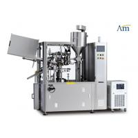Buy cheap Fully  Automatic Tube Filling And Sealing Machine Compact Design 80rpm Speed from wholesalers