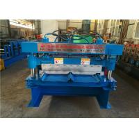 China Clip Lock Panel Standing Seam Metal Roof Machine Solid Roller Type 470 760 820 on sale