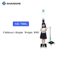 China Ultrasonic 200kg 210cm Height And Weight Balance For Children wholesale
