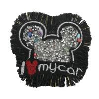 China Delicate Rhinestone Applique Patches Large Size Any Shape Available wholesale