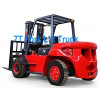 China 7T H70 Diesel Engine Fork Lift Truck wholesale