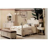 China Luxury Villa/European Antique Home Furniture,White Rustic Style Furniture,VS-008 wholesale