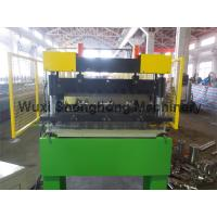 China 0.8-1.6 Mm Thickness Floor Deck Sheet Roll Forming Machine High Durability wholesale