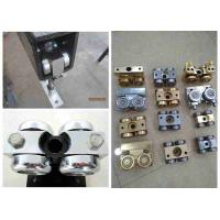 Hanging Wheel Movable Wall Hardware , Partition Wall Components For Steel Track