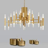 Buy cheap Suspension Lights luminaire Gold Black Pendant Lamp For Indoor home Lighting from wholesalers