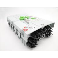 China 96 Cores 16 Ports Fiber Optic Splitter Box NAP Outdoor Box Mini SC Adapter IP68 PC With 1x16 Splitter wholesale