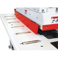Trimming Straight Line Rip Saw , High Efficient Multi Blade Rip Saw Cutting Width 410mm