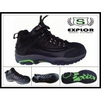 China steel toed boots for men hiking boots the best comfortable work boots black wholesale