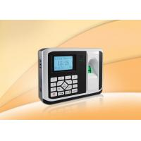 China Check In / Out Biometric Access Control Devices 24 Hours Continuous Operation wholesale