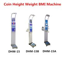 China Coin Operated Body Weight Height Scale , Professional Medical Grade Weight Scale wholesale