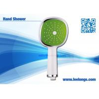 China Single Spray Face rain shower head with handheld , Square wholesale