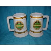 China Beer mug for promotions, full-color decal wholesale