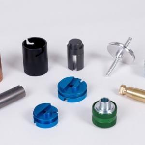 China Small Custom Machined Aluminum Parts , CNC Aluminum Parts Baking Painting wholesale