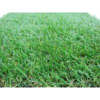China Garden Outdoor Artificial Grass 25mm Yarn Height , 26mm Total Height wholesale