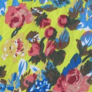 China Printed 10S Rayon nylon spadex bengaline fabric for pants wholesale