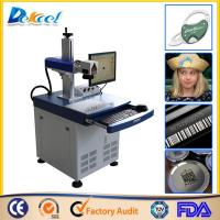China USED Fiber Laser Engraving Marking Machine 10W 20W30W CNC Metal Marker on sale