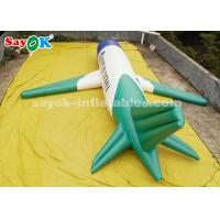 China ROHS Custom Inflatable Products , 10 Meter PVC Inflatable Airplane Model For Exhibition Display on sale