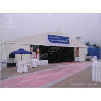 500 Seaters Custom White Outdoor Event Tent , Corporate Event Tent Marquee