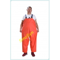 Buy cheap FQY1902 Orange PVC Safty Chest/ Waist Protective Working Fishery Men Pants from wholesalers