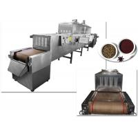 China 120 KW Microwave Drying Machine , Industrial Sterilization Equipment For Spice wholesale