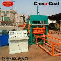 China QT5 fully automatic vibrating forming concrete hollow block making machine wholesale