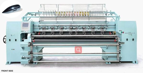 Quality 94 Inch 3 Needles Shuttle Quilting Machine 400~550n/M Sewing Speed 250mm X Area for sale