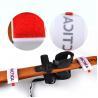 China Wrist Protection Hook Loop Ski Strap Band OEM With EVA / Rubber , Black wholesale