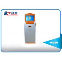 China Ground standing card dispenser  bill pay kiosk locations with PC automatic display on sale