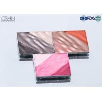 OEM square multi-color waved shadow palette Strong High Pigment Eyeshadow for sale