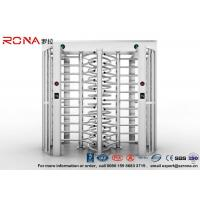 Buy cheap Robust Full Height Turnstile Access Control Barrier Gate Anti Fingerprints from wholesalers