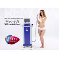 China 808nm Permanent Hair Removal Laser Machine , Unwanted Hair Removal Machine on sale