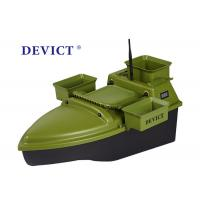 China Lithium batter RC Fishing Bait Boat DEVC-204 green ABS Engineering RC model wholesale