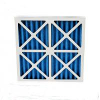China Indoor Primary Pre Filter Air Filter G4 MERV8 Cardboard Panel With Protective Net wholesale