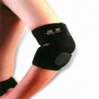 China Elbow Support, Made of Neoprene and Spandex, Various Sizes are Available wholesale
