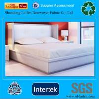 China skin-friendly white pp nonwoven fabric for bedding and home textile on sale