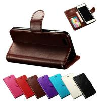 7 Colors Mobile Phone Accessories in Stock Soft PU Leather Folio Stand Cover Case For Apple iPhone 6 4.7 Inches