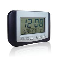 China Plastic HD-5302G Digital Thermometers with Time, Temperature, Date display wholesale
