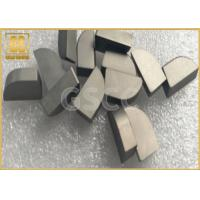 China Cusotmized Tungsten Carbide Brazed Tips , Tungsten Carbide Cutting Tips wholesale