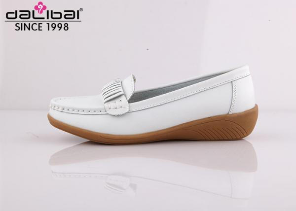 Quality Popular Cute Extra Wide Comfort Clogs Nursing Shoes White Flat Heel Size 35 - 43 for sale