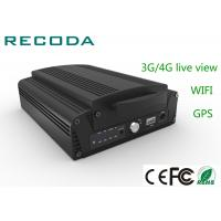 Buy cheap 4ch 1080P  HDD mobille DVR 3G / 4G live view , mobile vehicle DVR from wholesalers