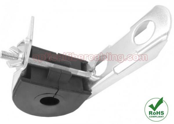Quality Abrazadera autosuficiente de la suspensión del gancho del cable de ADSS, suspensión del cable de fribra óptica de FTTH for sale