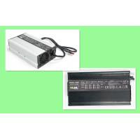 China Black Silver Portable And Smart Battery Charger 12V 25A For Lithium And SLA Battery Pack on sale