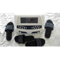 China Detox Machine AH-805 Dual Foot Detox SPA Dual Screen Display Foot Massage Ion Cleansing With Massage Slipper wholesale