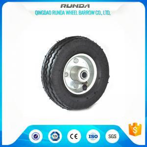 "China Anti - Skidding Inflatable Pneumatic Swivel Caster Wheels6""X2"" Sawtooth Pattern wholesale"