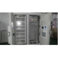 China DDTE016 IP55 Outdoor Integrated Telecom Metal Cabinet With Equipment And Battery Part wholesale
