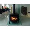 China Fashion Freestanding Wood burning Fireplace Inserts 713mm * 687mm * 455mm wholesale