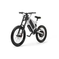 Buy cheap Extreme Stealth Bomber Electric Bike Moutain Snow 8000 Watt With Range 100km from wholesalers