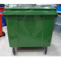 Quality 1100liter plastic outdoor garbage bin/ 4 wheels bin/ trash can/plastic garbage container for sale